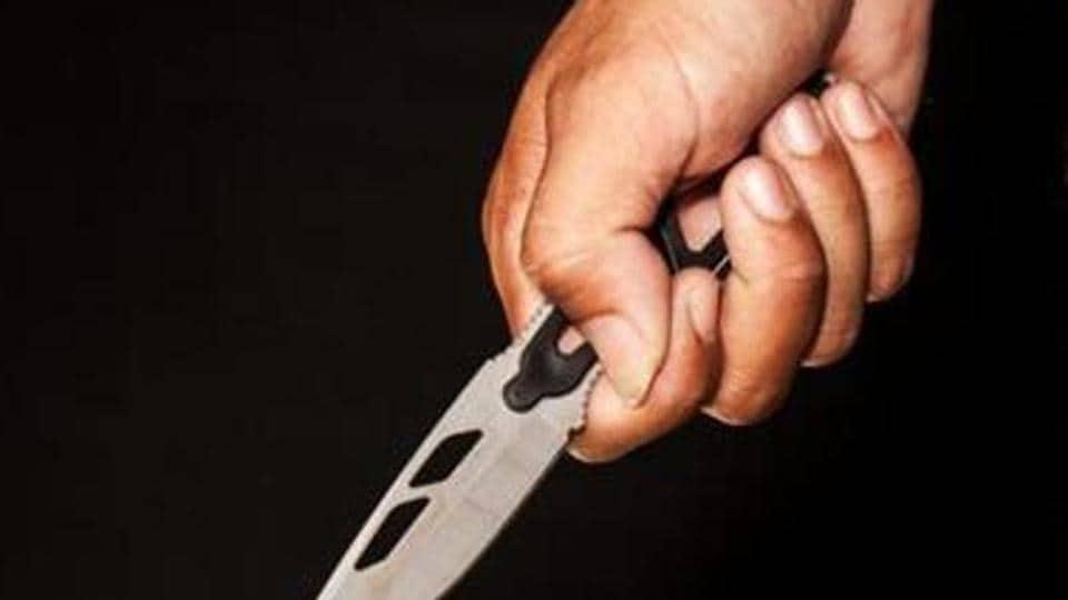 Man stabs son
