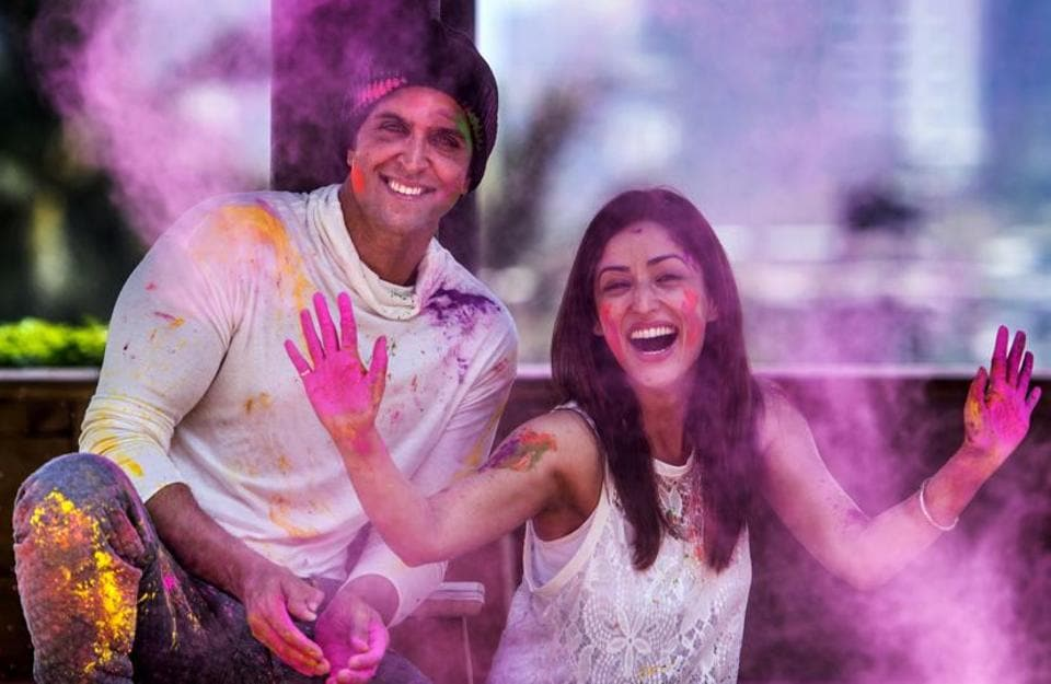 Bollywood celebrates every festival in its own way. Here, we show you the glimpses of what actors Hrithik Roshan, Yami Gautam, Ayushmann Khurrana and Bhumi Pednekar were up to this Holi. (Satish Bate/HT Photo)