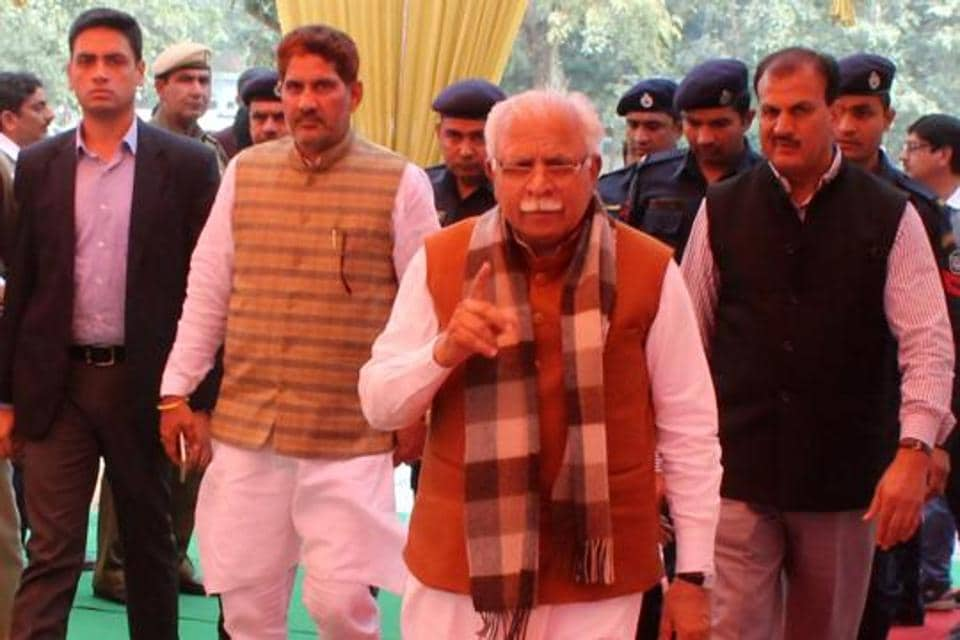 CM Manohar Lal Khattar had promised strong action against state officials found drawing power illegally.