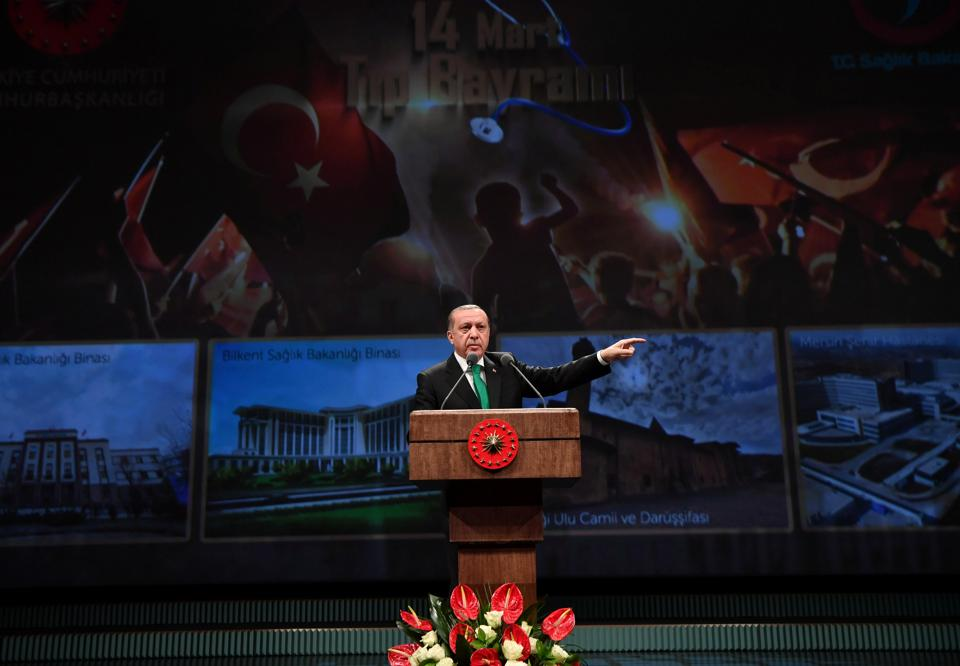 Erdogan,Berlin,The Hague