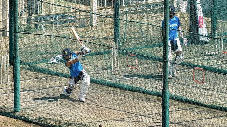 After a poor show with the bat in the second Test,  India cricket team captain Virat Kohli will be keen to be amongst the runs in the third Test vs Australia cricket team beginning in Ranchi on Thursday. He spend a considerable amount of time in the nets on Wednesday, knocking the ball around with intent.  (PTI)
