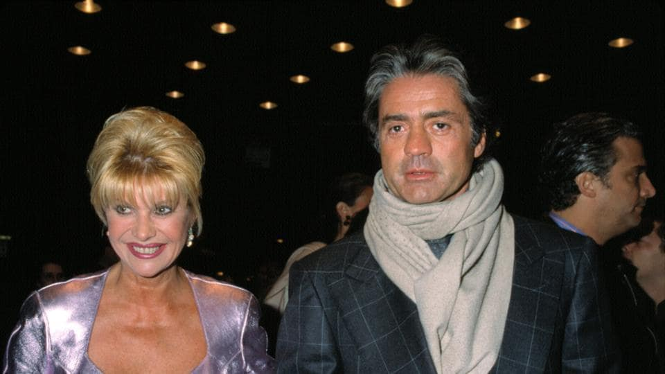 Ivana Trump with a friend at a film screening in New York in 2001.