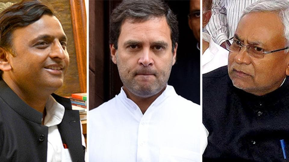 Samajwadi Party's Akhilesh Yadav, Congress' Rahul Gandhi and the Janata Dal (United)'s Nitish Kumar could pose a formidable challenge to the Narendra Modi wave if they came together in an alliance in the next general assembly elections.