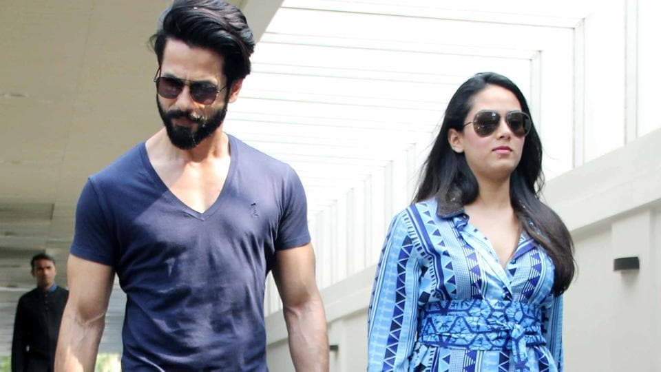 Shahid Kapoor stunned on seeing his wife