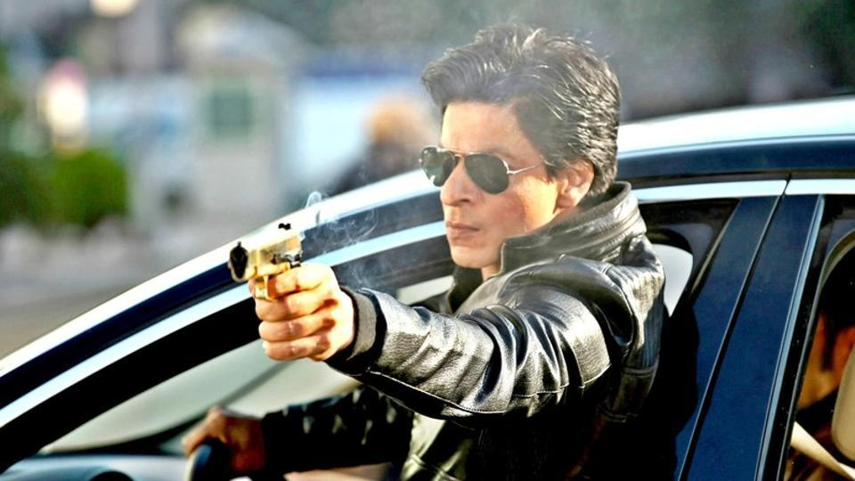 Shah Rukh Khan in a still from the film Dilwale.