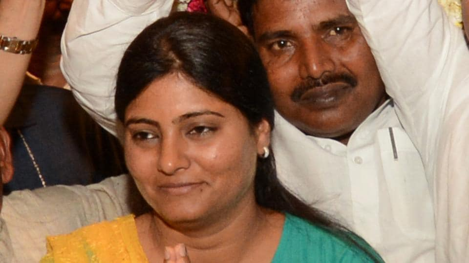 Anupriya Patel addressed the first meeting of elected MLAs  in Lucknow on Wednesday.
