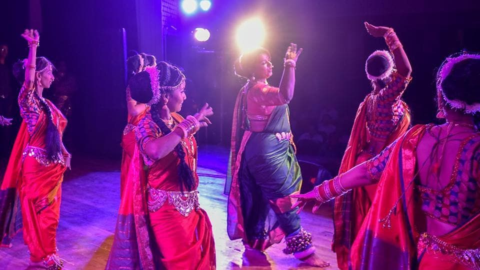 Combining traditional song and dance, lavani is performed to the beats of a dholki. (Kunal Patil/HT Photo)