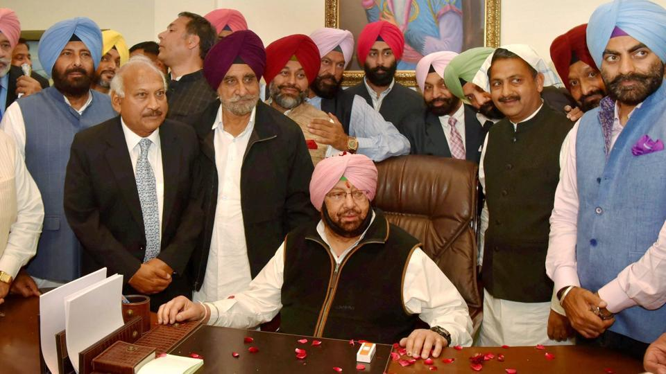 Having won the state despite the odds, Punjab chief minister Amarinder Singh is likely stamp his authority in his new government.