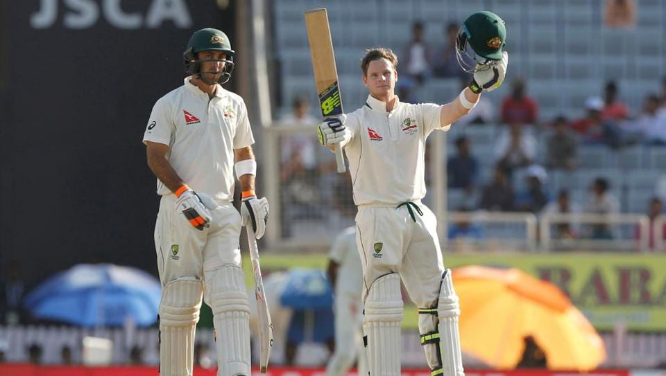 Steve Smith became the third-fastest Australian to go past 5000 runs in the Ranchi Test versus India and he also notched up his 19th century.