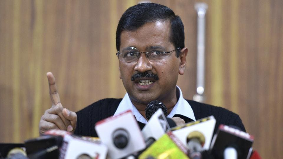 Delhi CM Arvind Kejriwal sent out a letter to all registered AAP volunteers where he wrote that winning or losing is part of the political adventure and there is no reason for them to give up.