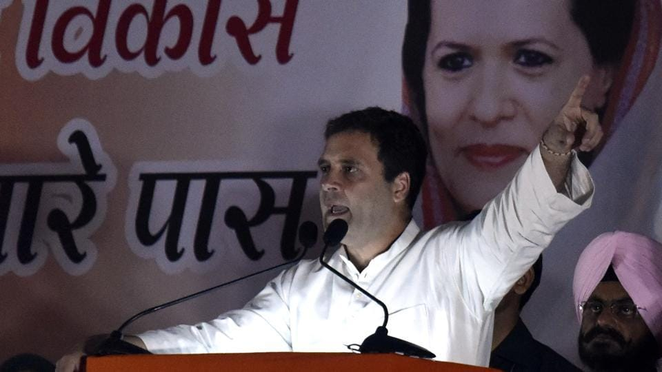 Rahul Gandhi's trip comes amid growing criticism both inside and outside party of his handling of the elections.