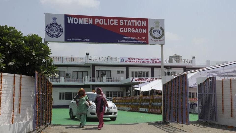 Gurgaon,Gurgaon women police station,scotters for petrolling