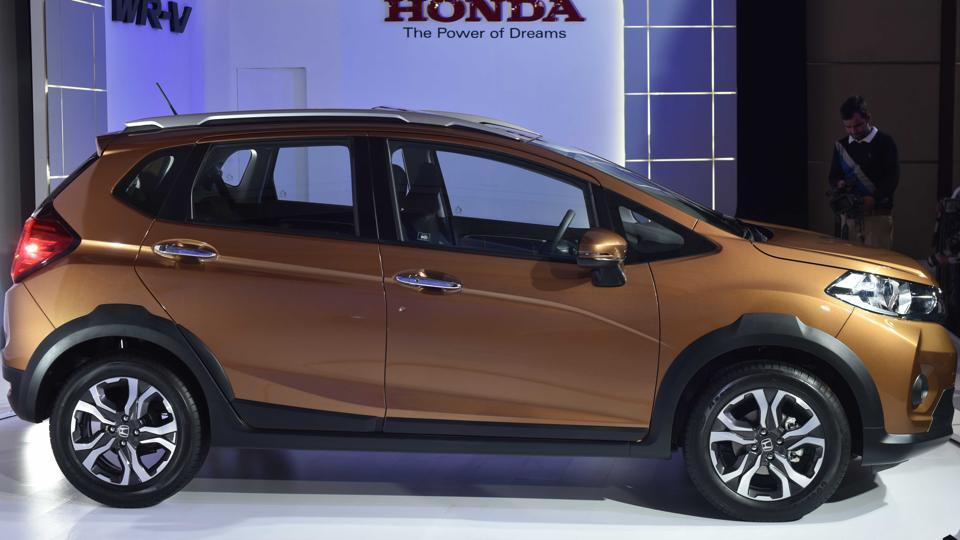 The new  WR-V gets a 1.2 Litre petrol and a 1.5 Litre diesel engine, and having driven them both, we can say that they perform very well. (Vipin Kumar/HT PHOTO)