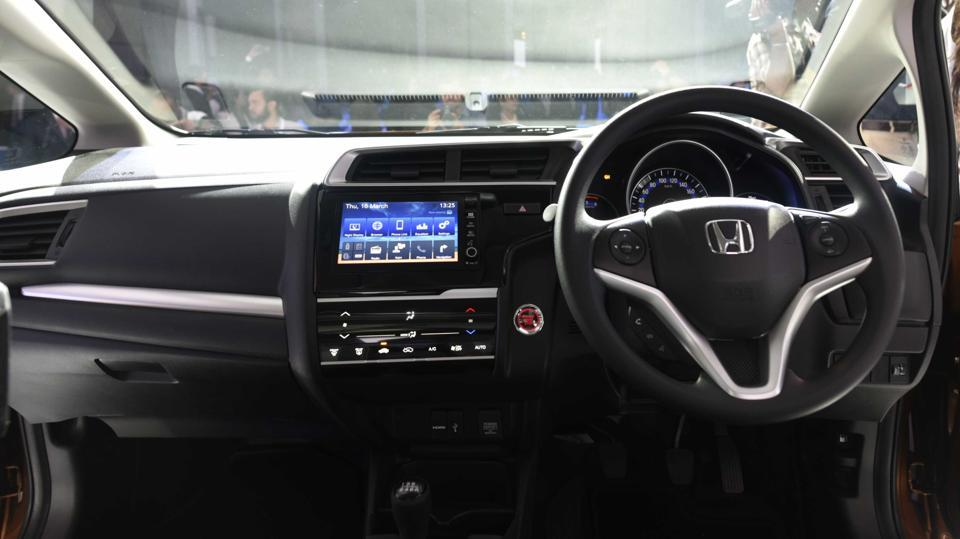 WR-V is the first model developed by Honda R&D India along with Honda R&D Japan.  (Vipin Kumar/HT PHOTO)