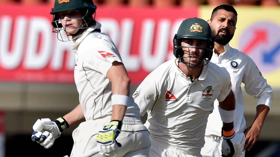 Australian cricket team captain Steve Smith and Glenn Maxwell stitched an unbeated 159-run partnership on Day 1 of the third Test vs Indian national cricket team in Ranchi on Thursday.
