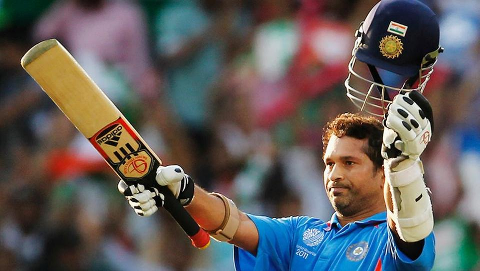 Sachin Tendulkar became the first batsman to score 100 international centuries and he achieved the feat on March 16, 2012 against Bangladesh in Mirpur.