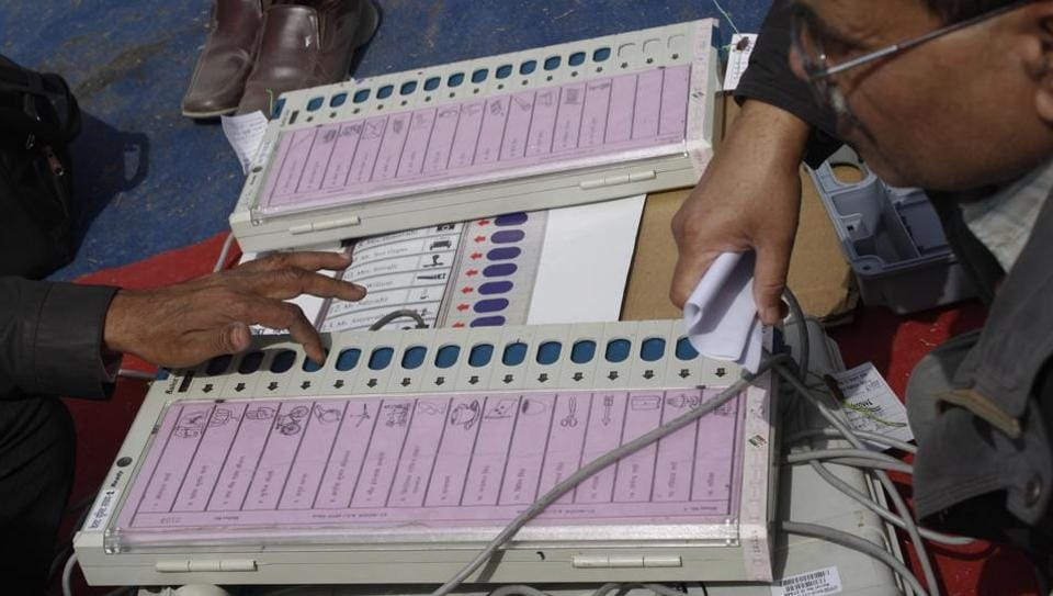 The Election Commission has asserted that the electronic voting machines (EVMs) are fully tamper-proof.
