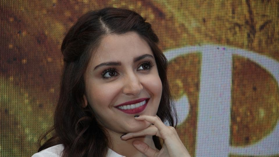 Actor Anushka Sharma during a promotional interview for her film Phillauri in Mumbai.