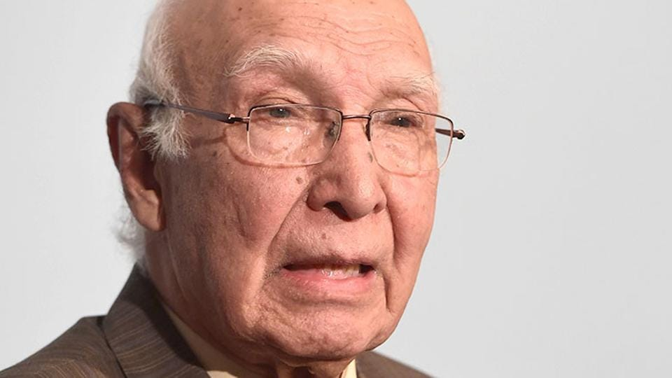 A committee headed by Pakistan's foreign affairs advisor Sartaj Aziz reportedly proposed fifth province status for the strategic region.