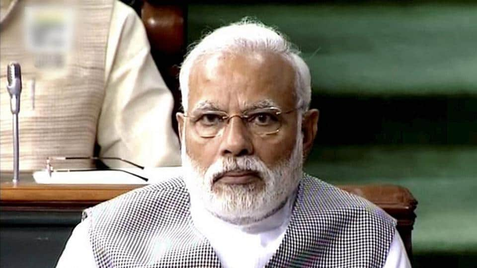 Prime Minister Narendra Modi attended the Rajya Sabha on Thursday.