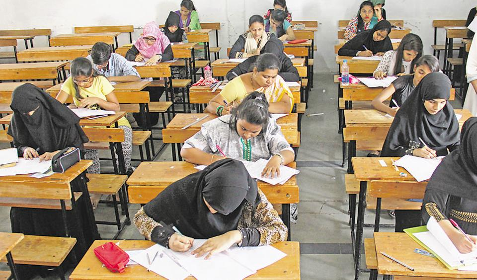 As a mark of protest, the teachers were assessing only one answer sheet each day instead of four to five.