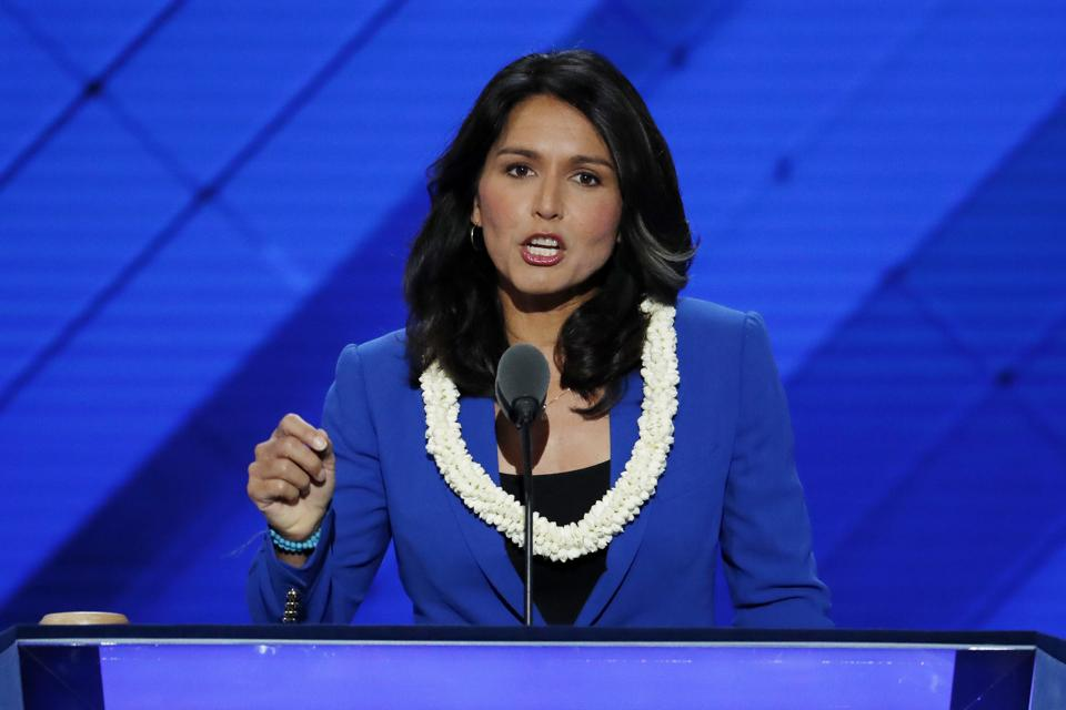 Gabbard is the first ever woman to be elected as co-chair of the House Congressional Caucus on India.