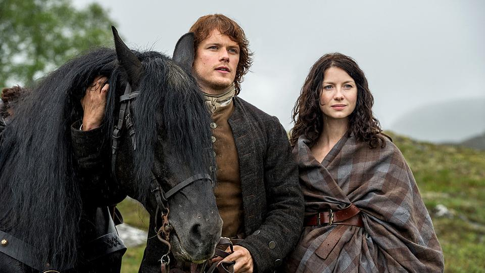 Outlander is now streaming on Netflix