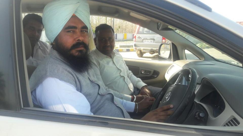 Amarjit Singh Sandoa, the AAP MLA from Rupnagar, who started as a taxi driver and gradually got to owning a fleet.