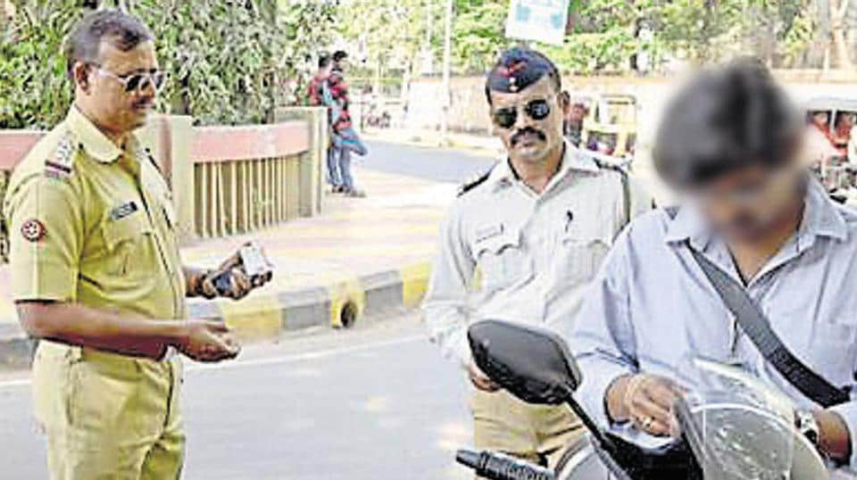 The traffic police chief emphasised that constables use e-challan machines issued to them and penalise motorists only for offences, as instructed.