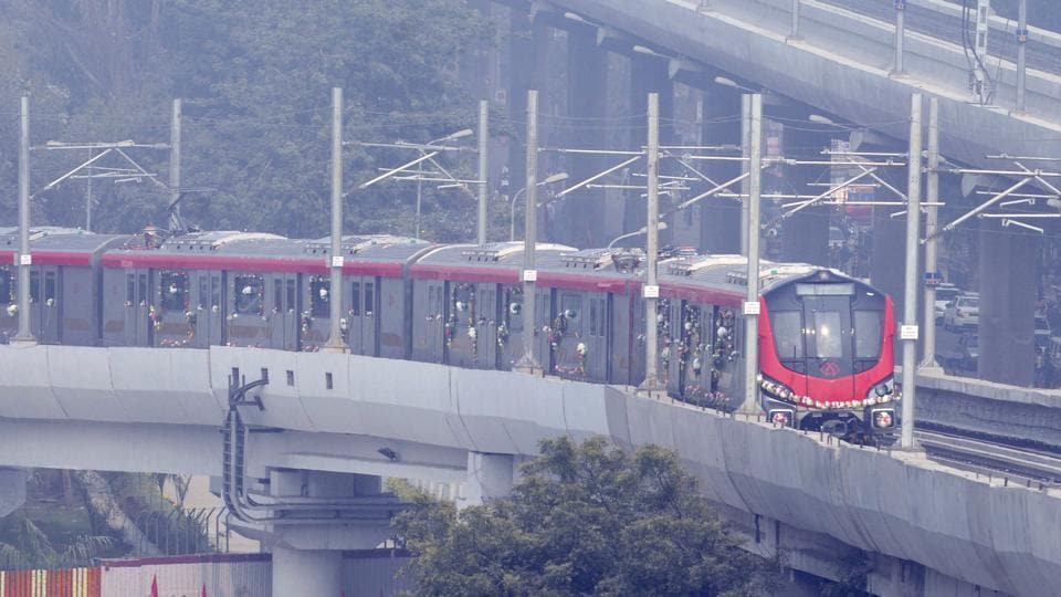 The RDSO is yet to submit its report about Lucknow Metro to the ministry of railways.