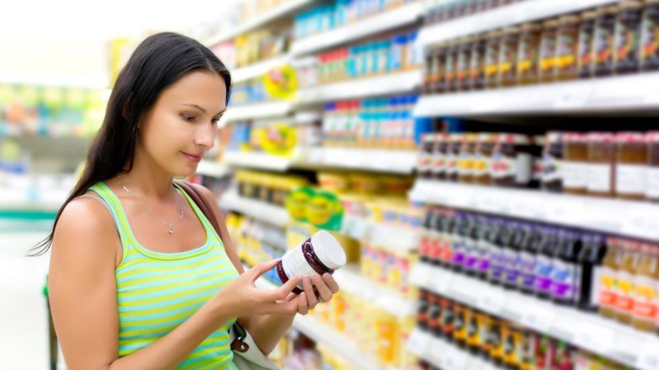 Food packaging labels,Nutrition label,Low-salt content