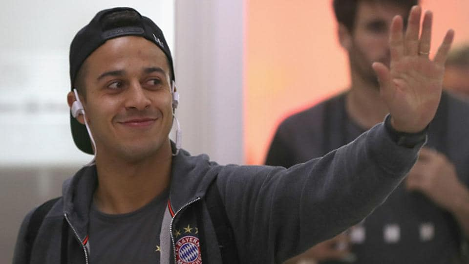 Former FC Barcelona player Thiago Alcantara is an integral part of the Bayern Munich team and played a stellar role in the German club's 10-2 aggregate thrashing of Arsenal FC in the Champions League
