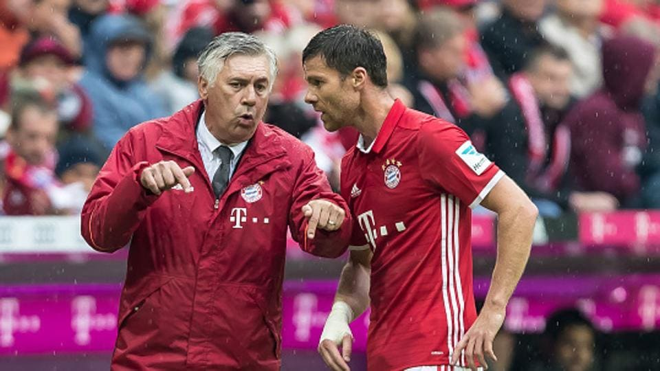 Carlo Ancelotti coached Real Madrid C.F. to their 10th European title in 2014 with Xabi Alonso also part of that team. Ancelotti will now lead Bayern Munich against Real in the UEFA Champions League quarterfinal -- April 12 in Munich and six days later in Madrid.