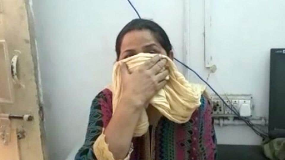 Tara was produced before a Ghaziabad court on Friday in connection with the rape of a minor girl who was allegedly assaulted by several men with Tara's help.