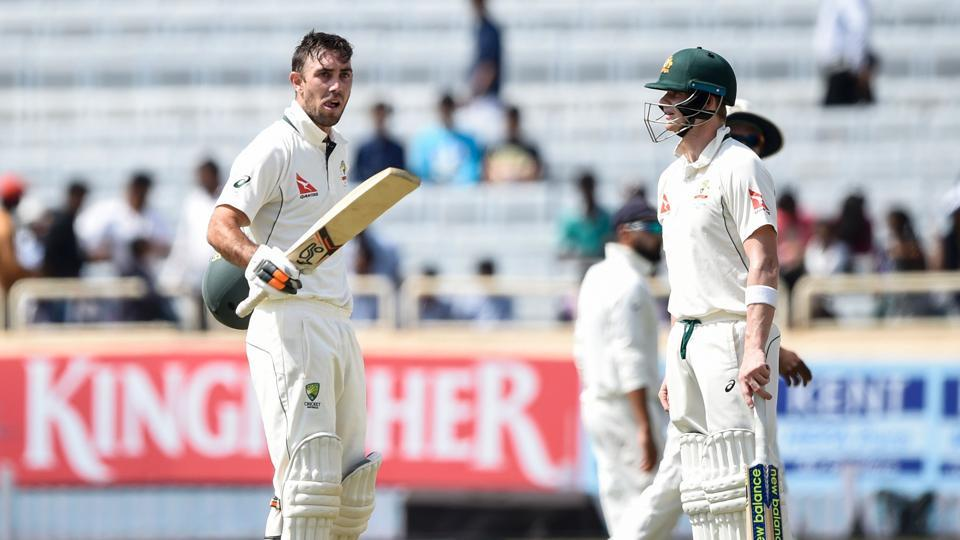 Glenn Maxwell slammed his maiden century on his Test comeback in the Ranchi game against India.