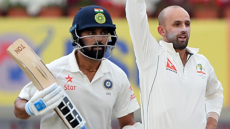 Live streaming of day 3 of the third Test between India vs Australia will be available online on Saturday. Murali Vijay has scored a 50. Catch live action.
