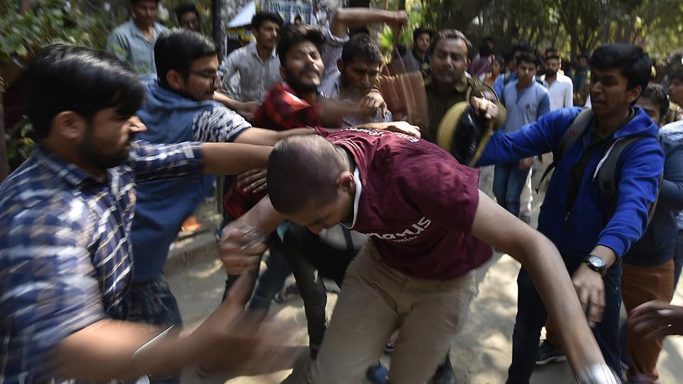The recent incident in Ramjas college where a student of JNU was not allowed to speak on tribal protests because of his radical views, followed by random violence,  is symbolic of the rise of Right Wing politics in our universities.