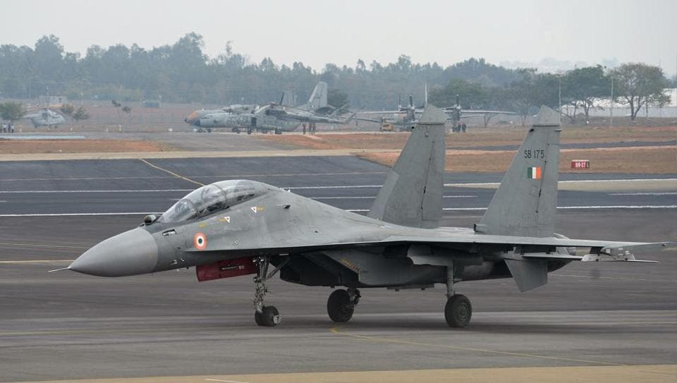 India and Russia have signed two agreements for long-term supply of spares for the Indian Air Force's Sukhoi-30 fighter jets.