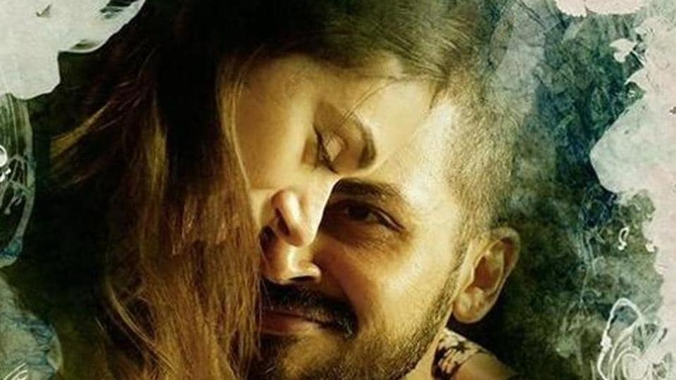 Kaatru Veliyidai stars Karthi and Aditi Rao Hydari in the lead roles.
