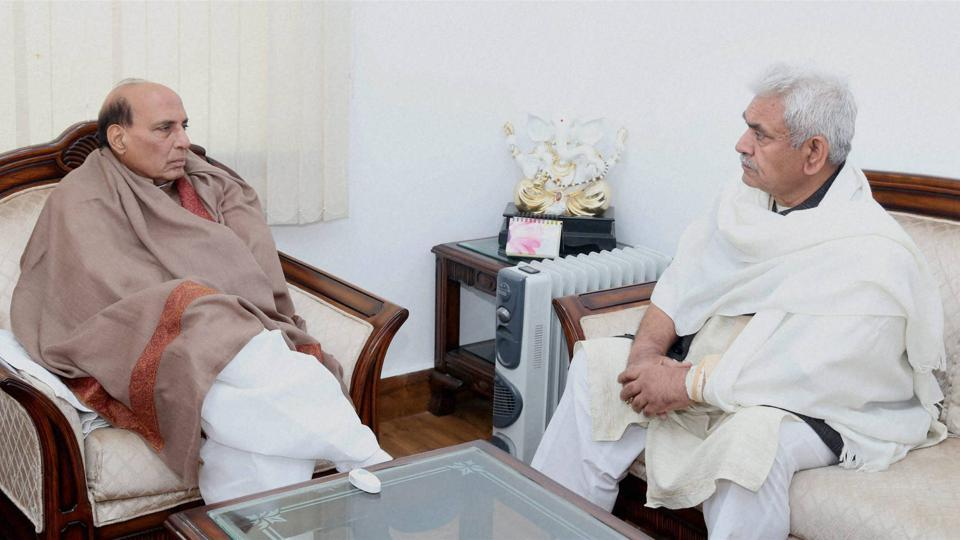 Home minister Rajnath Singh and Union minister Manoj Sinha are said to be among the main contenders for the post of Uttar Pradesh chief minister.