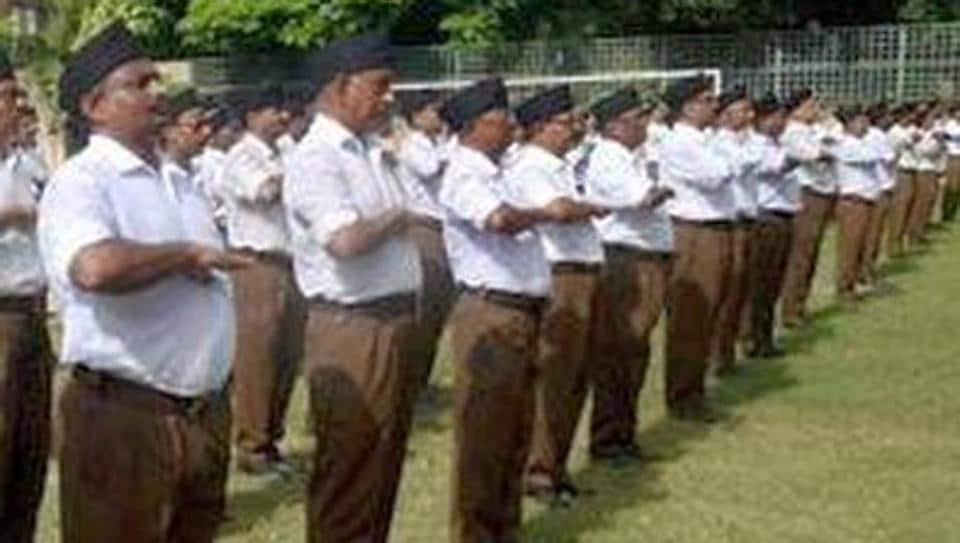For the uniforms, Rajasthan's education department is collecting samples from Bhilwara, the textile town that supplied clothes to the RSS.