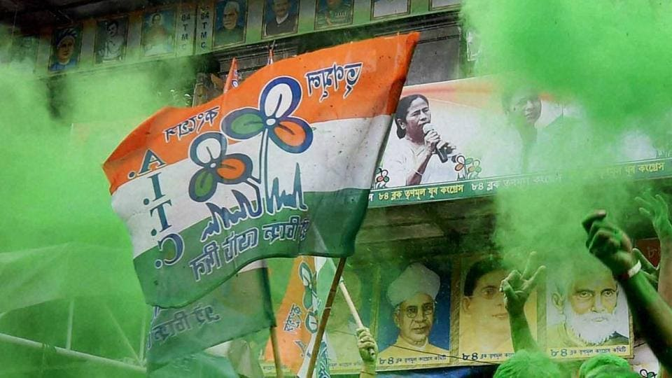 The sting operation showed a dozen Trinamool Congress leaders purportedly accepting cash from the representative of a fictitious company.