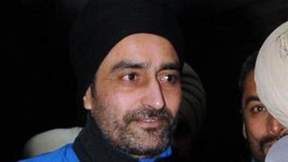 Jagtar Singh Tara, accused in the Beant Singh assassination case.