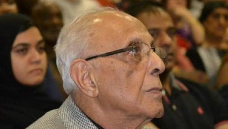 A file photograph of Ahmed Kathrada.