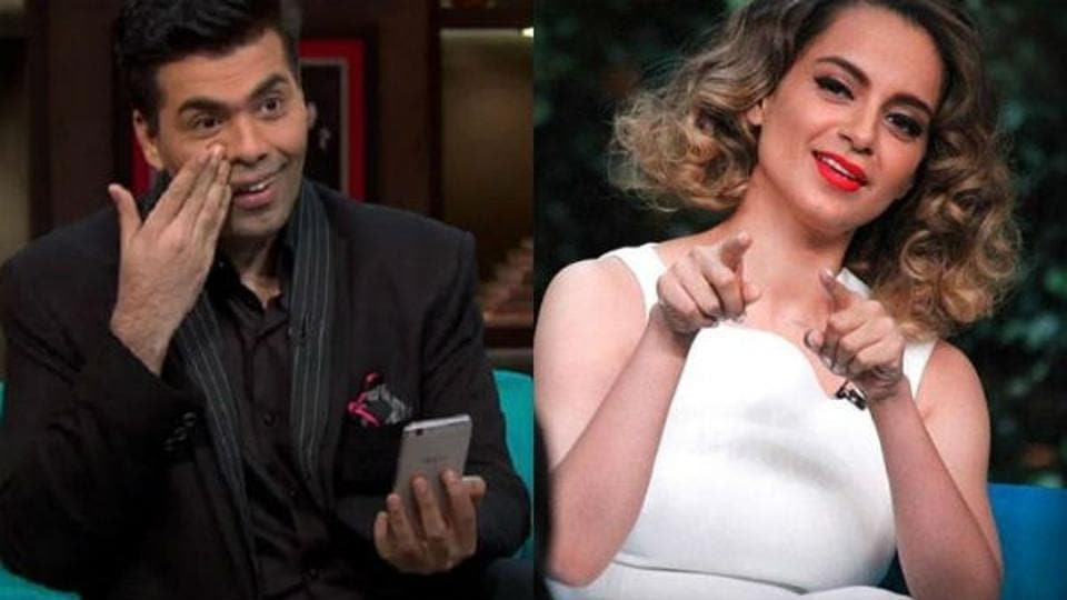 Image of Coffee with Karan - Karan Johar and Kangana Ranaut