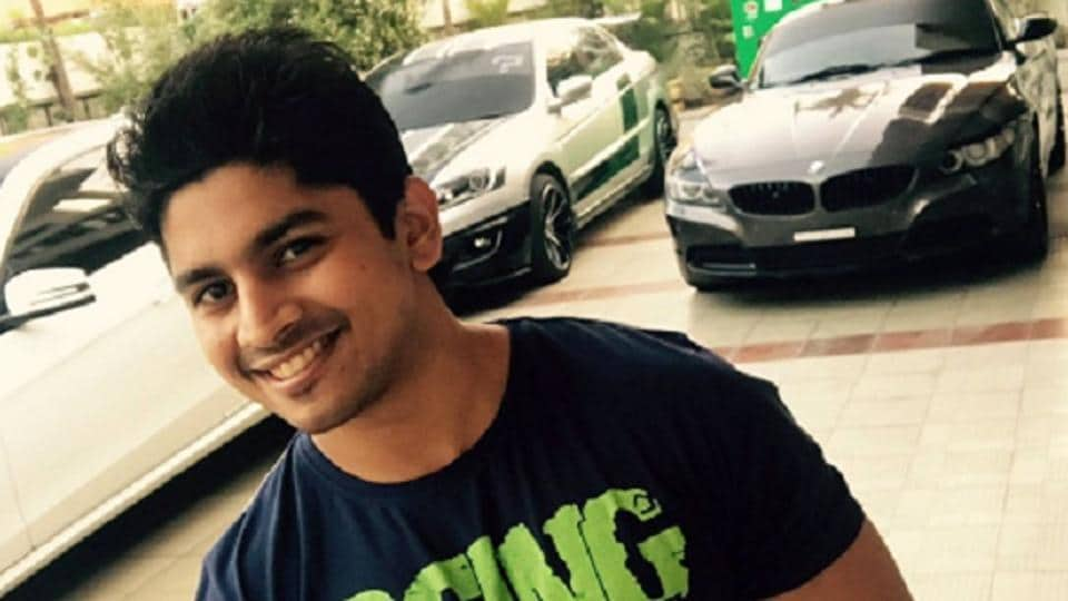 Race driver Ashwin Sundar who was charred to death with his wife Niveditha after their BMW crashed and caught fire in Chennai.