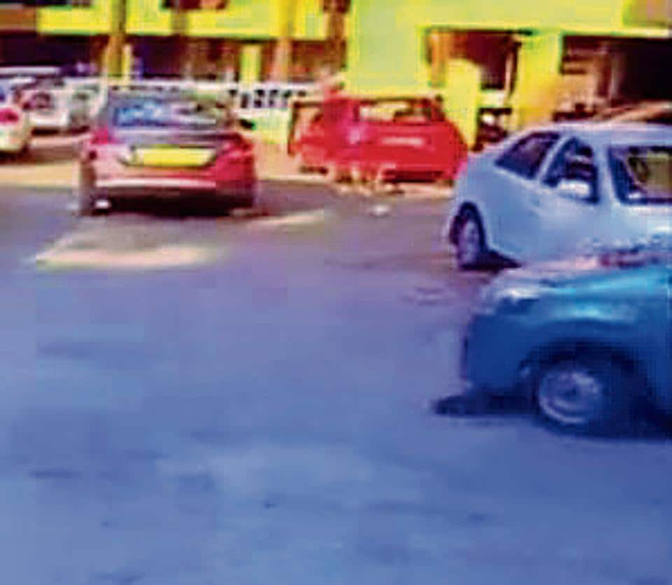 The man, identified as Atul Gangurde, 57, ran over the puppy with his four-wheeler on Thursday around 7.15 am at Unnathi Garden .