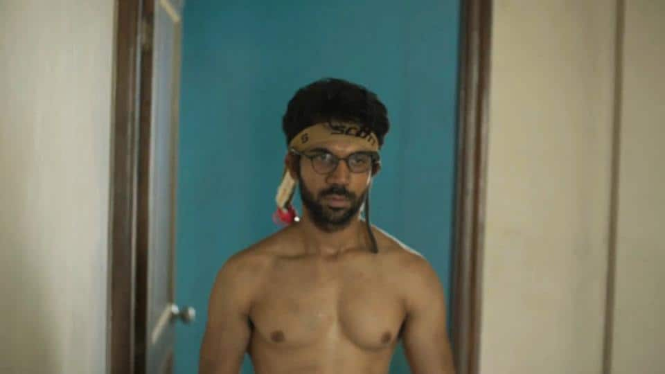 Rao in a still from his new film Trapped.