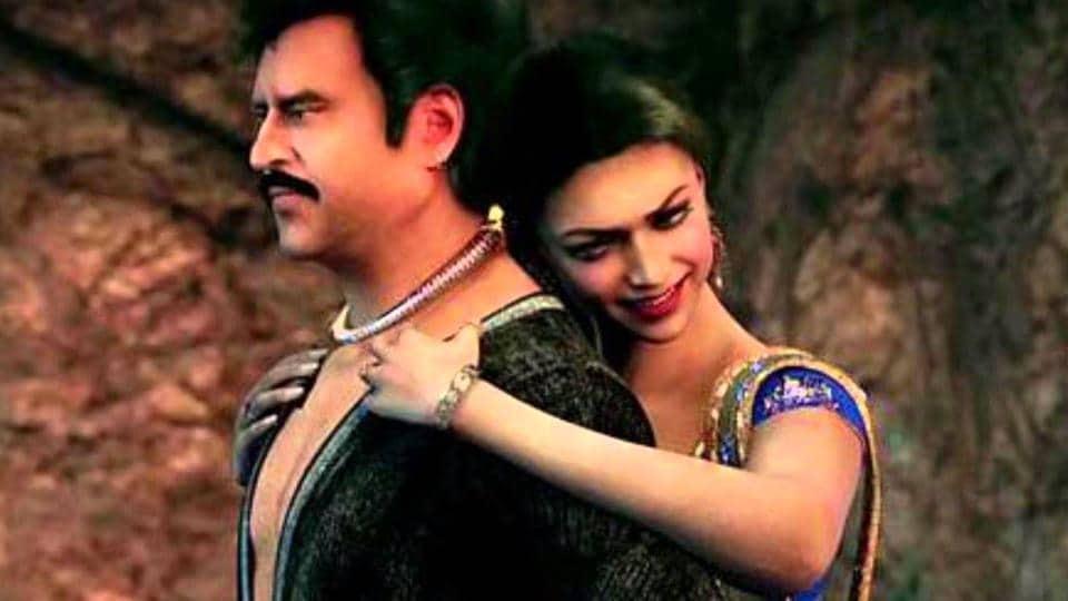 Deepika played the leading lady in Rajinikanth's Kochadaiyaan.