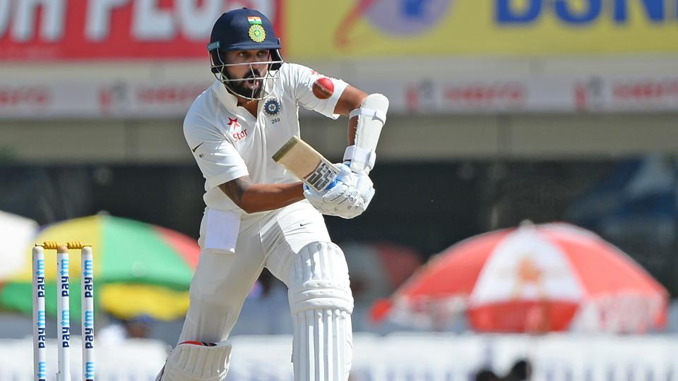Murali Vijay slammed a gritty 82 and shared a 100-plus stand with Cheteshwar Pujara in the Ranchi Test vs Australia.